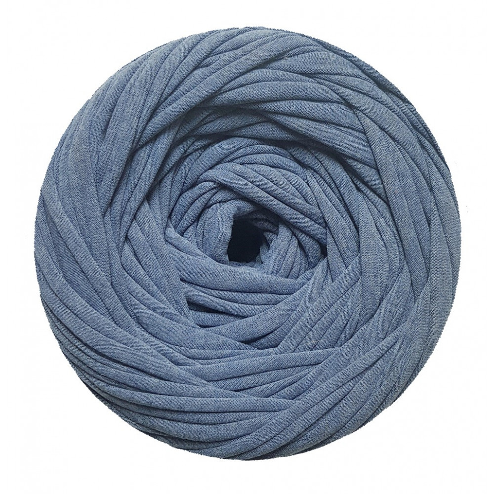 Knitting yarn Blue melange