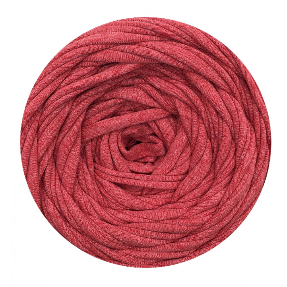 Knitting yarn Red melange