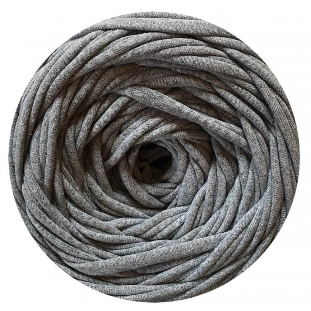 Knitting yarn Gray melange
