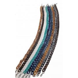 Plastic chain 60 cm, decoration for bags