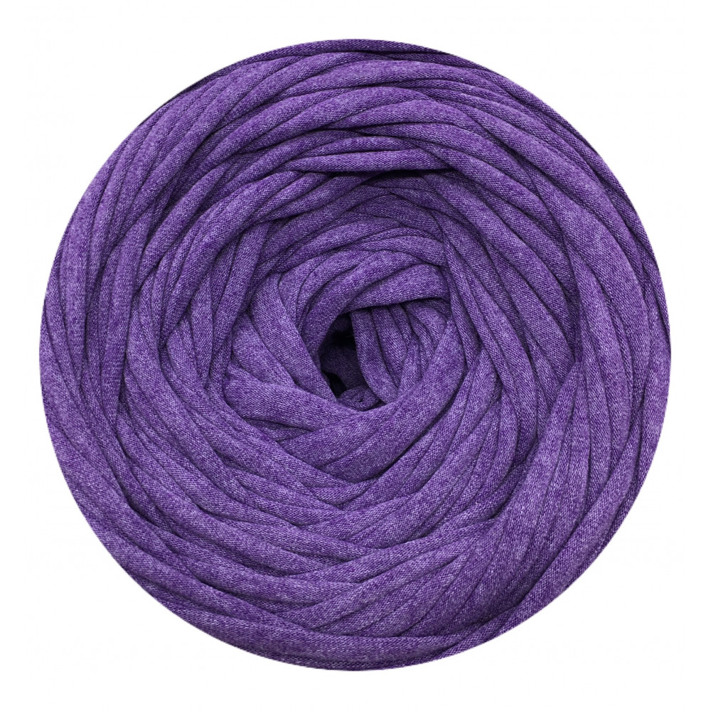 Knitting yarn Purple Melange
